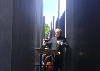 Concert at the Memorial to the Murdered Jews of Europe, Conductor: Lothar Zagrosek