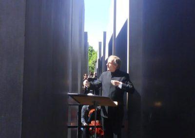 Konzert im Denkmal für die ermordeten Juden Europas