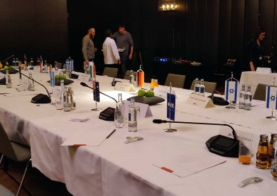 Wireless conference technology at Hyatt, January 2020