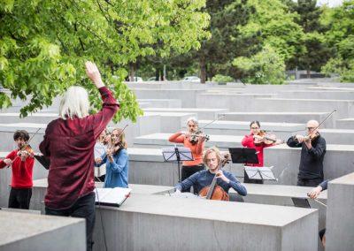 #niemalsverstummen – Konzert im Denkmal